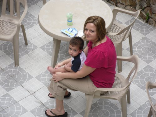 Cameron & Mommy 3