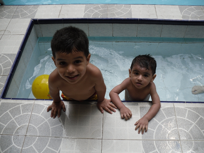 My Boys in the Pool