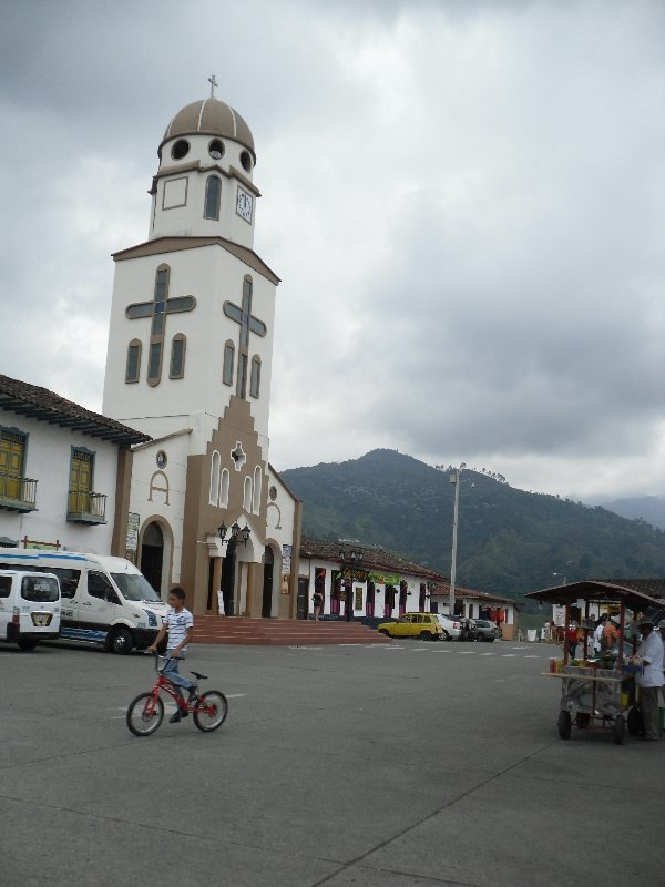Church in the Center of Salento