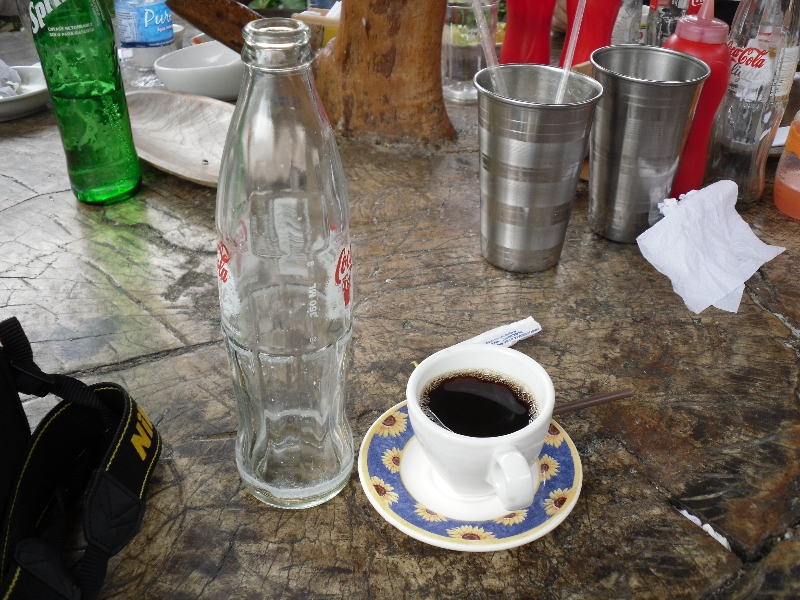 They Serve Coffee Small in Colombia