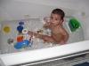 First Bath at Home